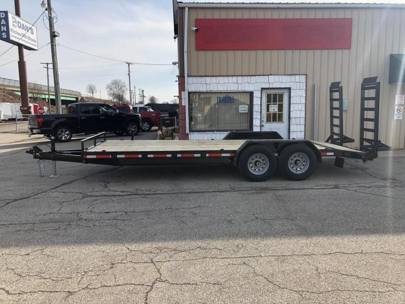 "2020 Quality Steel 83""X24' 14K GVWR Equipment Trailer $5050"