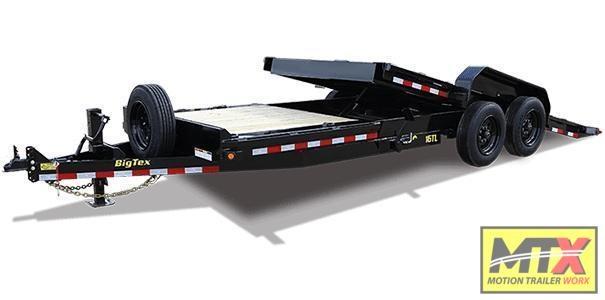 2021 Big Tex Trailers 22' 16TL 17.5K Tilt Trailer Equipment Trailer
