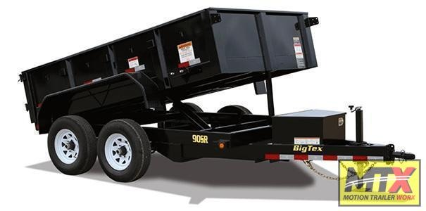 2021 Big Tex 6x10 90SR 10K Dump w/ Slide in Ramps