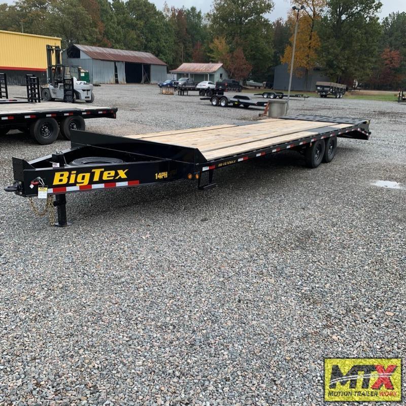2020 Big Tex 25+5 14PH Over Deck Pintle w/ Mega Ramps