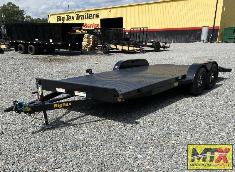 2022 Big Tex 18' 70DM Car Trailer