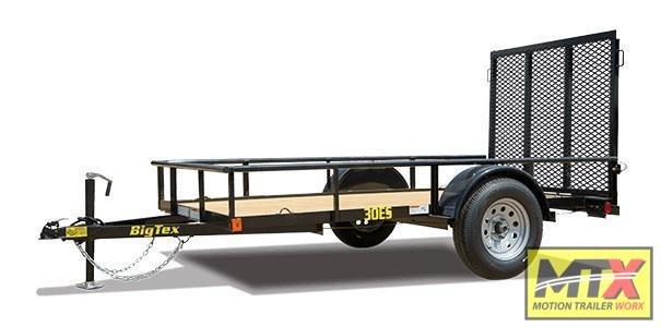 2020 Big Tex 5x8 30ES w/ 4' Tailgate