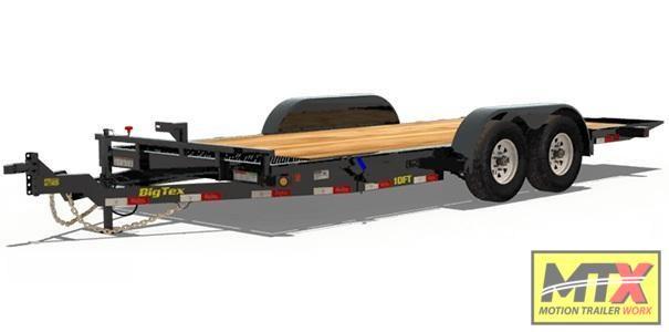2020 Big Tex Trailers 18' 10FT 10K Tilt Trailer Equipment Trailer