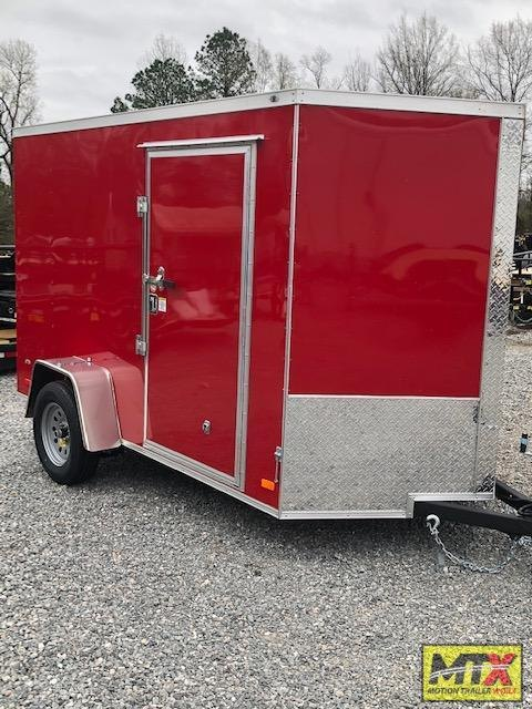 2021 Covered Wagon  6x10 Gold Series w/ Ramp Door