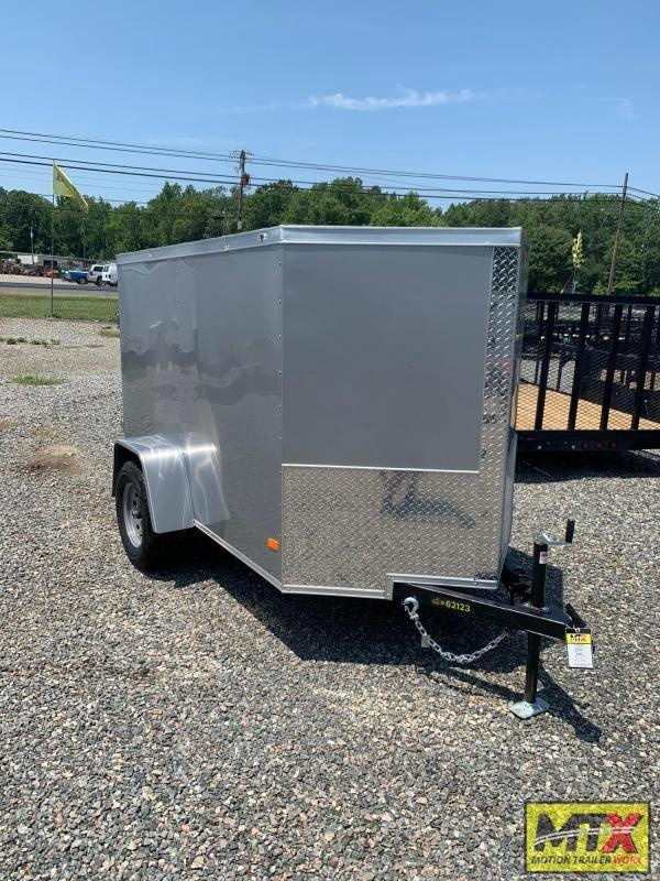 2020 Covered Wagon 5x8 Gold Series w/ Single Swing Rear Door