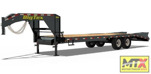 2021 Big Tex 25+5 16GN with Mega Ramps 17500 GVWR