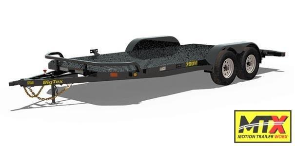 2021 Big Tex 18' 70DM Car Trailer