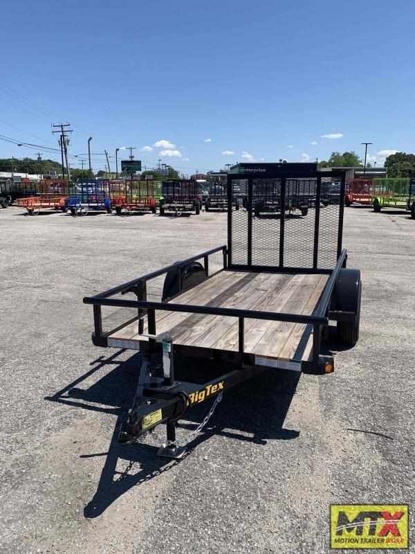 2022 Big Tex 5x10 30SA w/ 4' Spring Assist Tailgate