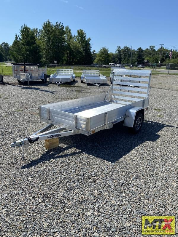 """2021 Mission 5x8 Aluminum Trailer w/ 10"""" Solid Sides"""
