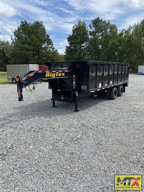 2022 Big Tex Trailers 8x20 25DU Dump w/ Ramps