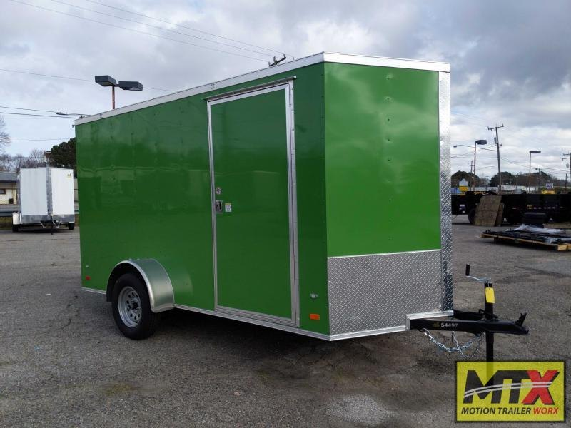 2020 Covered Wagon 6x12 Gold Series w/ Ramp Door