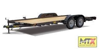 2020 Big Tex 16' 60CH Car Trailer w/ Slide in Ramps