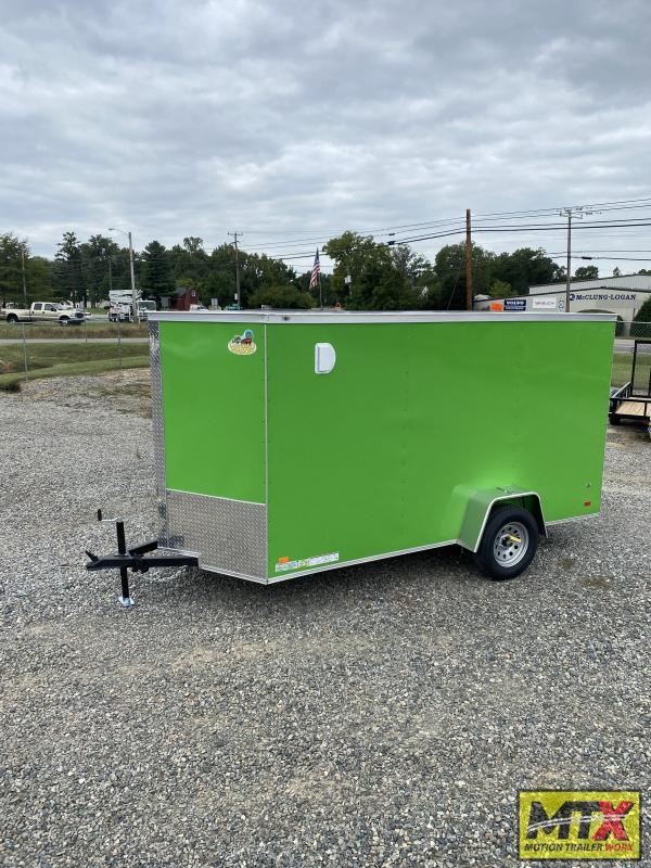 2022 Covered Wagon  6x12 Gold Series w/ Ramp