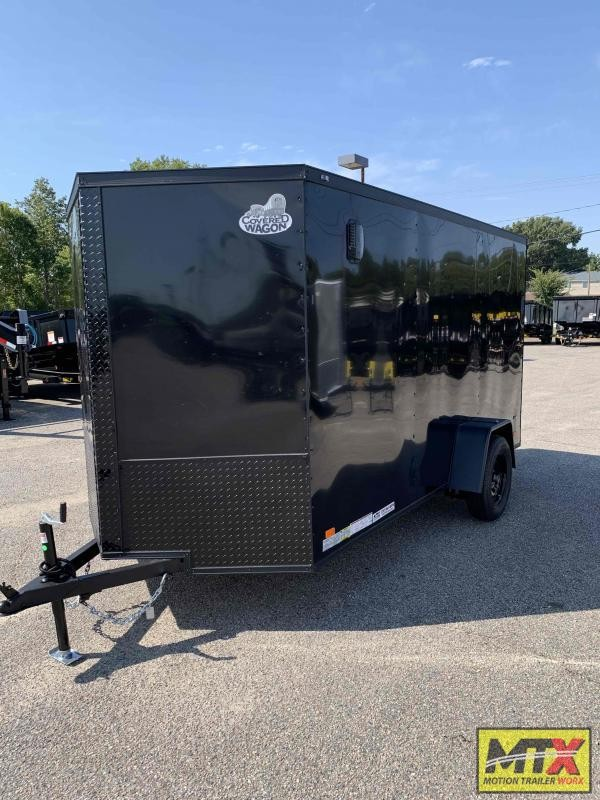 2022 Covered Wagon  6x12 Gold Series w/ Blk  Out Pkg & Ramp