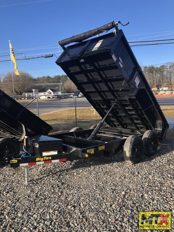 2022 Big Tex 6x12 90SR 10K Dump w/ Slide in Ramps & Tarp