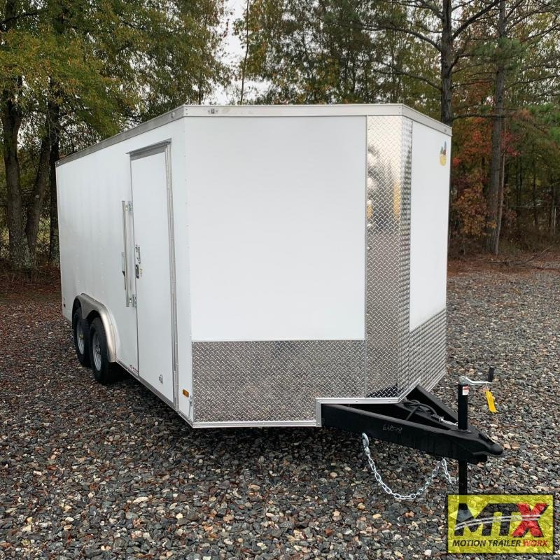2021 Covered Wagon 8x16 10K Gold Series w/ Ramp