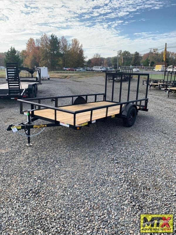 2021 Big Tex 6x14 35SA w/ 4' Spring Assist Tailgate