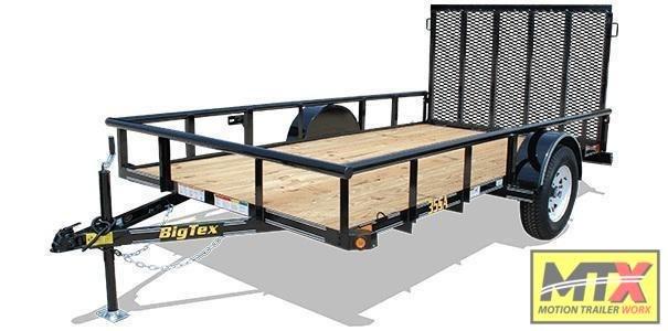 2021 Big Tex 6x14 35SA w/ 4' Spring Assist Tailgate