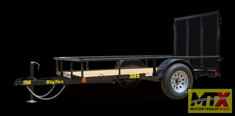 2021 Big Tex 5x10 30ES w/ 4' Tailgate