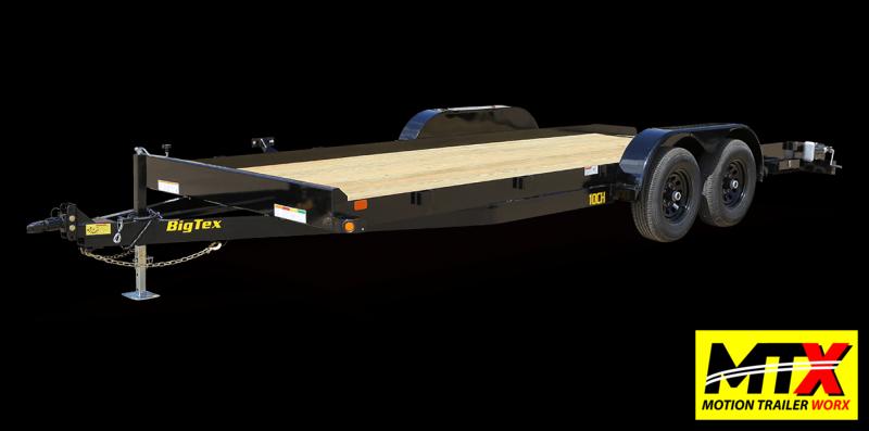 2022 Big Tex 18' 10CH 10K Trailer w/ Slide In Ramps