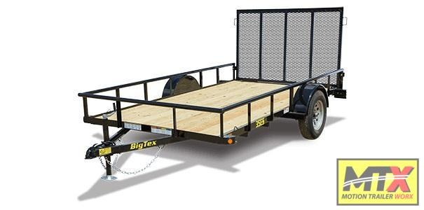 2020 Big Tex 6x14 35ES w/ 4' Rear Tailgate
