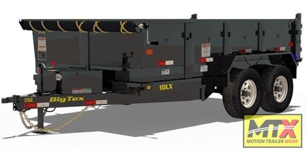 2021 Big Tex Trailers 2021 Big Tex 6x12 10LX 10K Dump w/ Slide in Ramps Dump Trailer