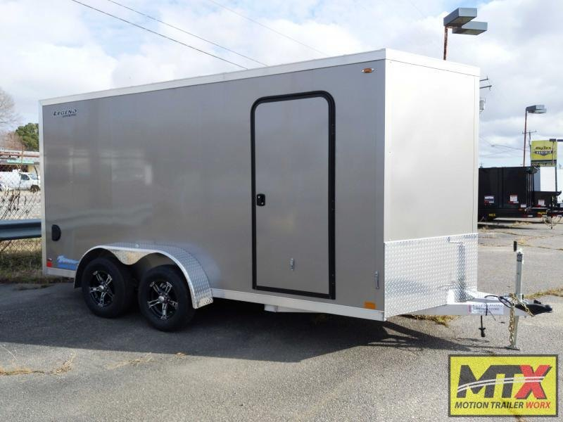 2020 Legend ALL ALUMINUM 7x16 w/ Ramp Door