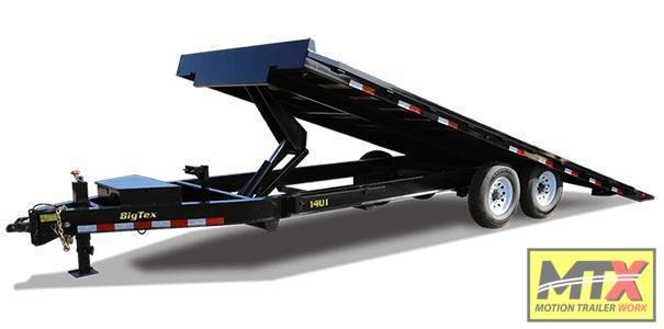 2021 Big Tex 24' 14OT 14K Tilt Trailer w/ Hydraulic Jacks