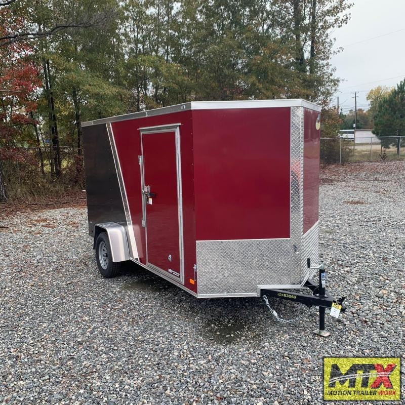 2021 Covered Wagon  6x12 Gold Series 2 Tone w/ Ramp