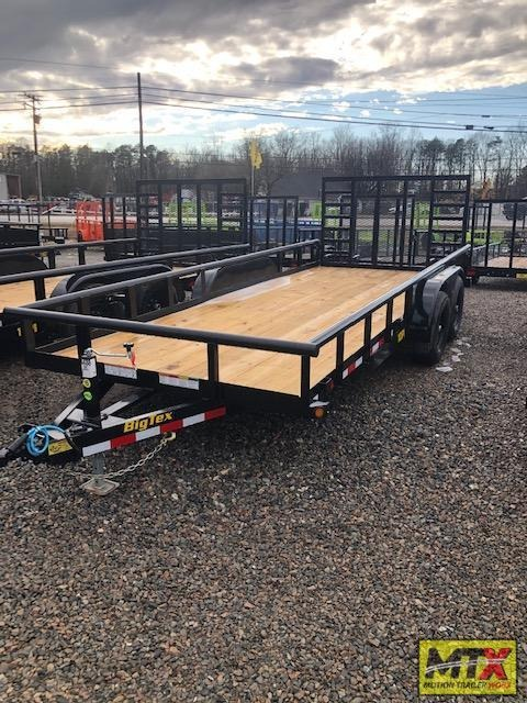 2021 Big Tex 18ft 10PI 10K w/ HD 4' Gate w/ Gas Shocks