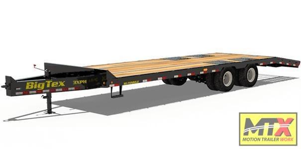 2021 Big Tex 25ft 3XPH 30K w/ Mega Ramps