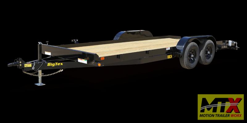 2020 Big Tex 20' 10CH 10K Trailer w/ Slide In Ramps