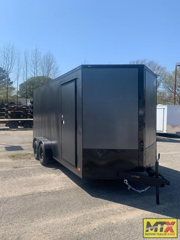 2021 Covered Wagon 7x16 Gold Series w/ Extra Height and Ramp