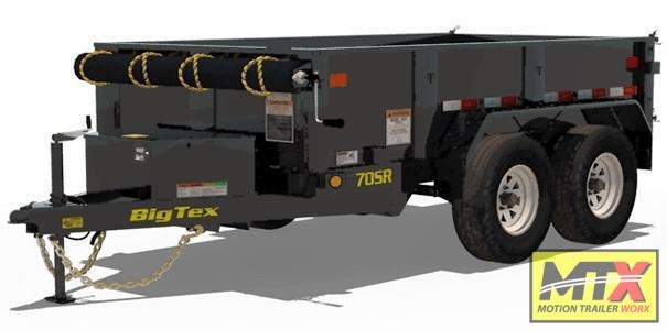 2021 Big Tex 5x10 70SR 7K Dump Trailer w/ Double Doors