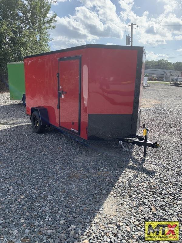 2021 Covered Wagon  6x12 Gold Series w/ Ramp Door