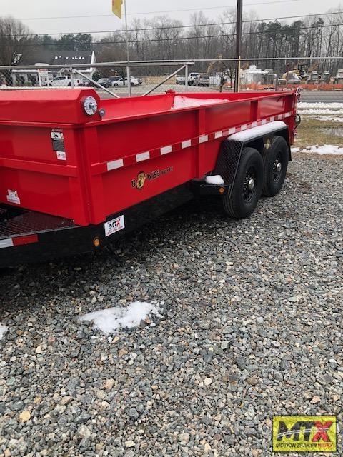 2021 B-Wise 7x14 DLP14-15 Low Pro Dump w/ 15400 GVWR