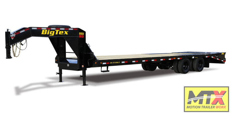 2021 Big Tex 35+5 22GN Gooseneck w/ Flip Over Ramps 23900 GVWR
