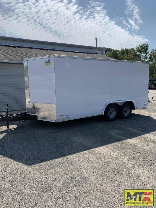2022 Covered Wagon 8.5x16 10K Gold Series w/ Double Rear Door