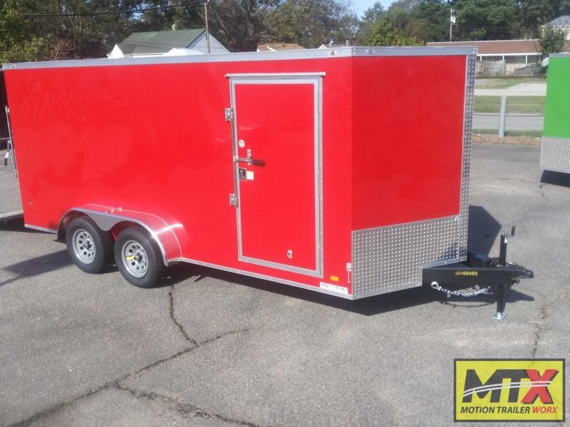 2021 Covered Wagon 7x16 Gold Series w/ Ramp