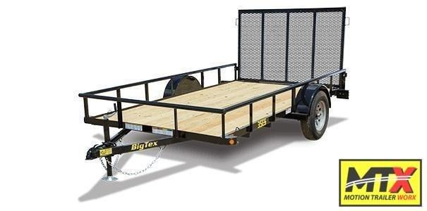 2021 Big Tex 6x12 35ES w/ 4' Tailgate