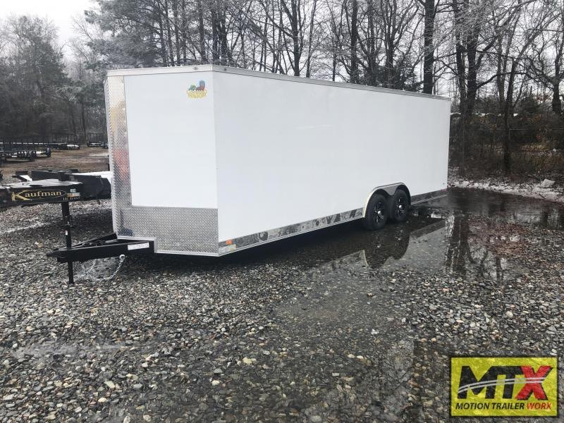 2021 Covered Wagon 8.5x24 10K Gold Series W/ Interior & Cabinets