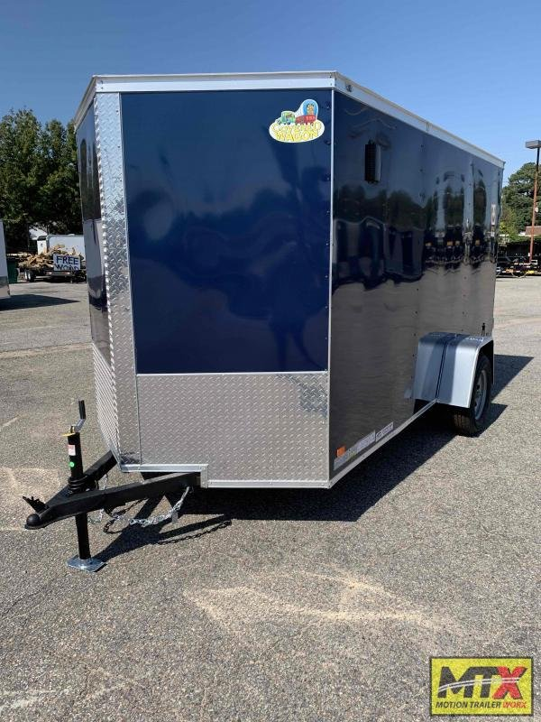 2022 Covered Wagon 6x12 Gold Series w/ Double Rear Door