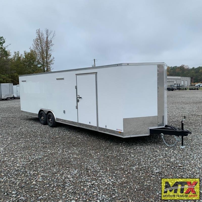 2021 Covered Wagon 8.5x28 10K Gold Series w/ Interior & Cabinets