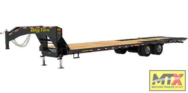 2021 Big Tex Trailers 35' 22GN-HDTS w/ Hydraulic Dovetail 23900 GVWR