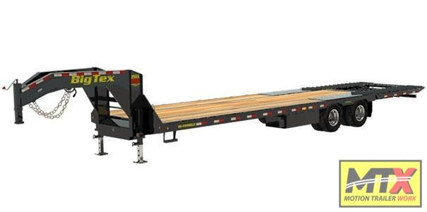 2021 Big Tex 35' 25GN-HDTS w/ Hydraulic Dovetail