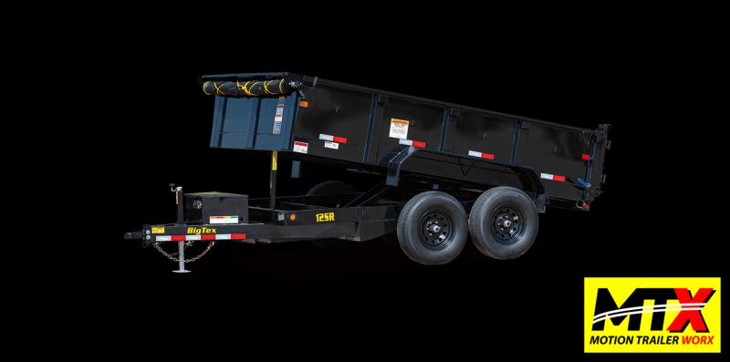 2022 Big Tex 7x12 12SR 12K Dump w/ Slide in Ramps
