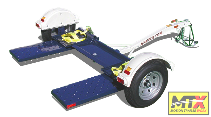 2021 Master Tow 80T Tow Dolly w/ Electric Brakes