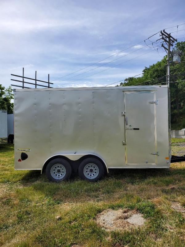 2021 Haulmark PP714T2-D Utility Trailer
