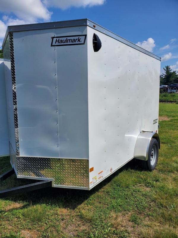 2021 Haulmark PP610S2-D Enclosed Cargo Trailer double rear doors