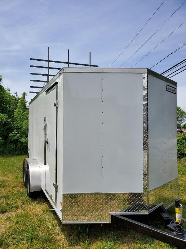 2021 Haulmark PP716T2-D Utility Trailer